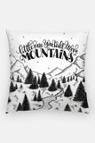 Pillow - Little one you will move mountains - howjoyfulshop