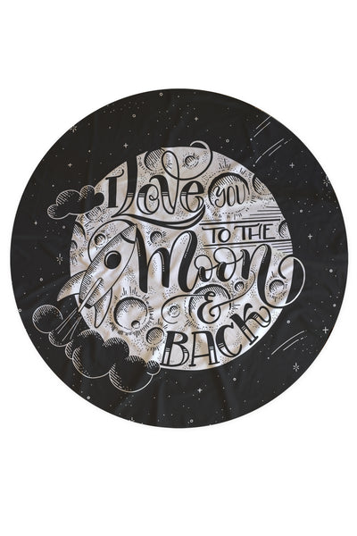 Play towel - I love you to the moon and back