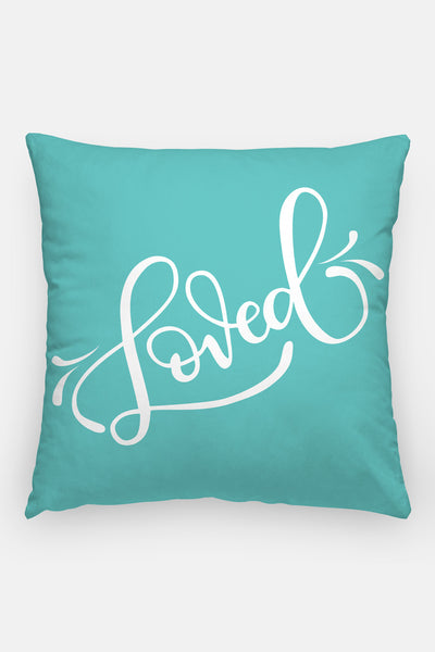 Pillow - Custom color - Loved - howjoyfulshop