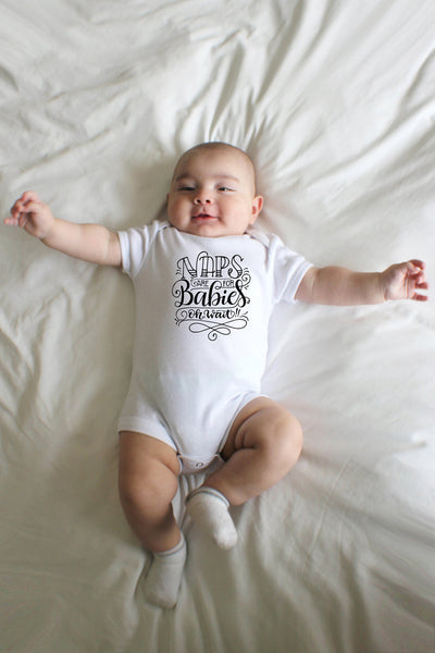 PREORDER - Bodysuit - Naps are for babies, oh wait! - howjoyfulshop
