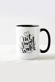 Mug - NOT paint water - Gift for creatives & painters - howjoyfulshop