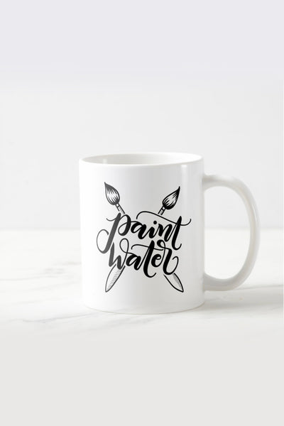 Mug - Paint water - Gift for creatives