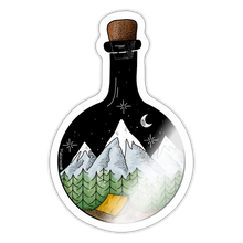 Load image into Gallery viewer, Bottled adventure - Sticker - white glossy