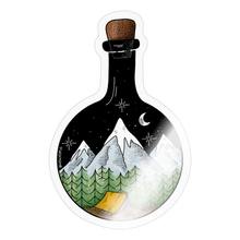 Load image into Gallery viewer, Bottled adventure - Sticker - transparent glossy