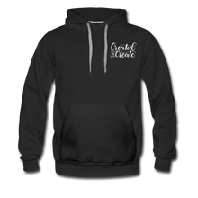 Load image into Gallery viewer, Created to create - Unisex Premium Hoodie - black