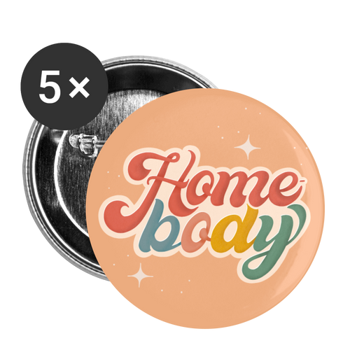 Home-body - Buttons (5-pack) - white