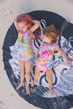 Load image into Gallery viewer, Play towel - Magic land - Home for mermaids, unicorns & princesses - howjoyfulshop
