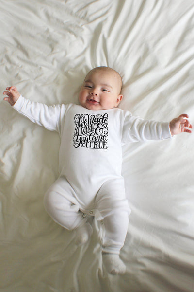 Sleep & play - We made a wish and you came true - SALE - howjoyfulshop