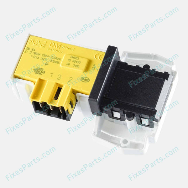 Washing Machine - Door Interlock Switch for Philco, Candy, etc.. (60117) - Fixes Parts - 1
