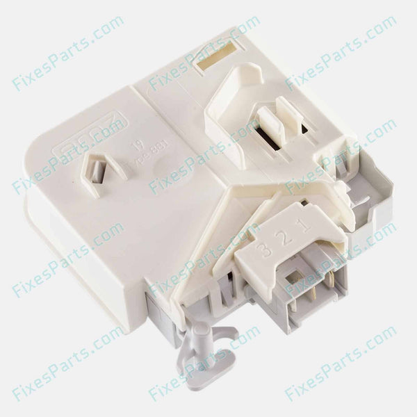 Washing Machine - Siemens Door Interlock Switch (3 Pins) for High-end series (60112) - Fixes Parts - 1