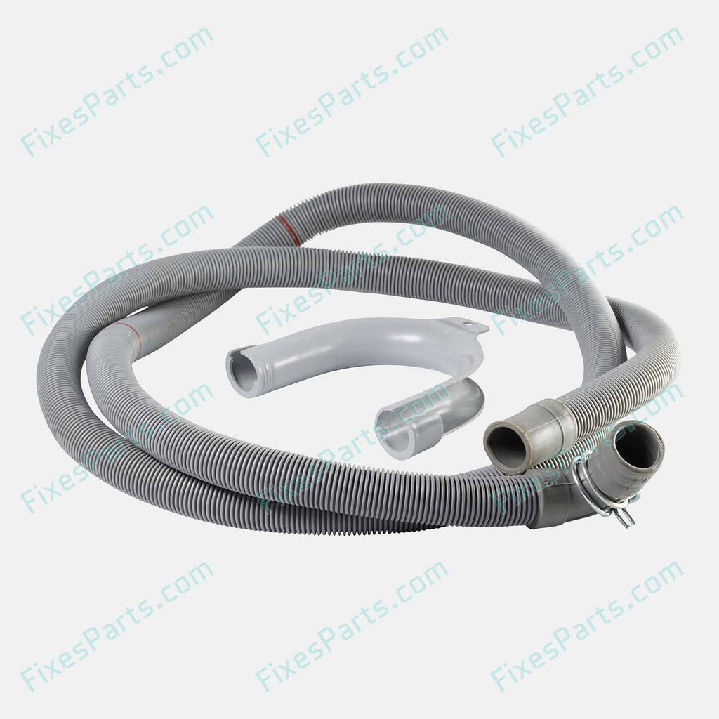 Washing Machine - Whirlpool Water Outlet Hose for AWO/D series (61512) - Fixes Parts - 2