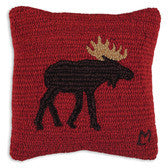 Chandler 4 Corners Brown Moose Pillow