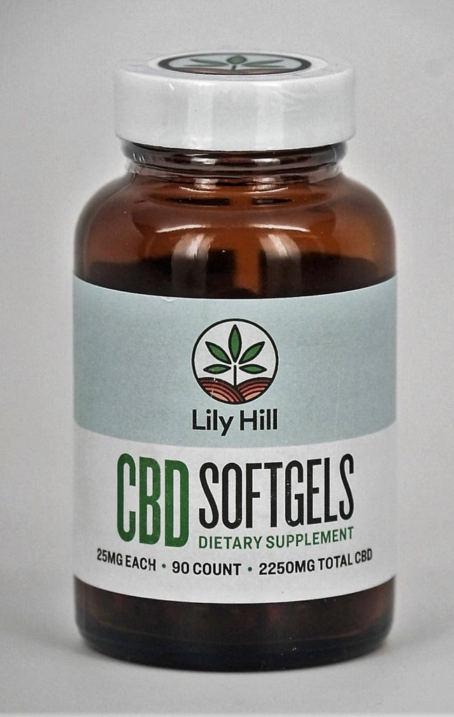 Lily Hill 25 MG capsules- 90 ct