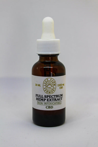 Luce Farm 1500 MG Full Spectrum CBD Extract