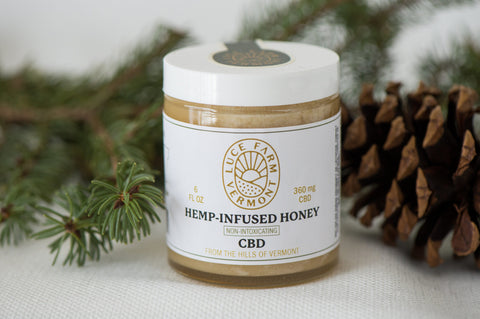 Luce Farm's Hemp Honey