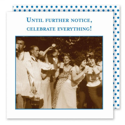 Shannon Martin Cocktail Napkin - Celebrate Everything