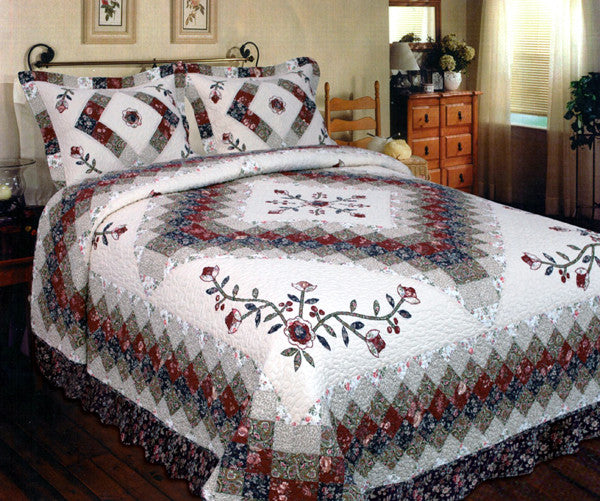 Victorian Treasure Quilt Set