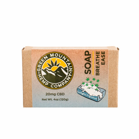 CBD SOAP - Breathe Ease