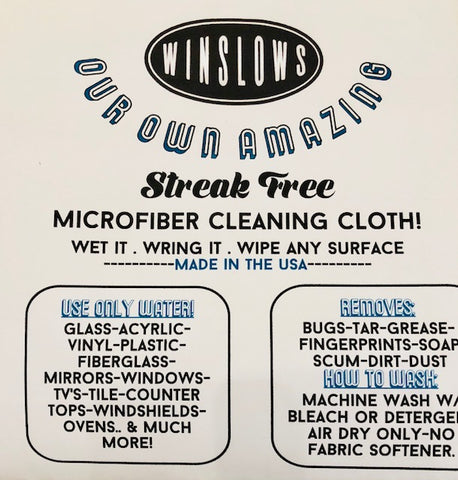 Our Own Micro Fiber Cleaning Cloth