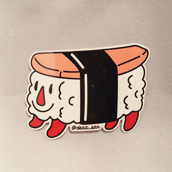 Okaa_san Spam Musubi Sticker