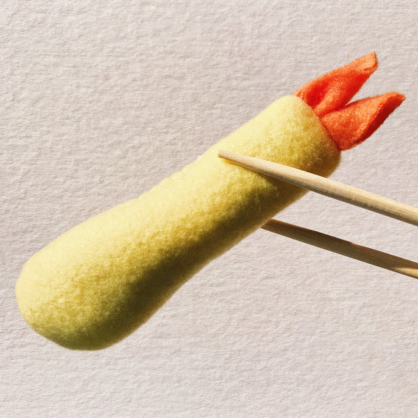 Shrimp Tempura Catnip Toy