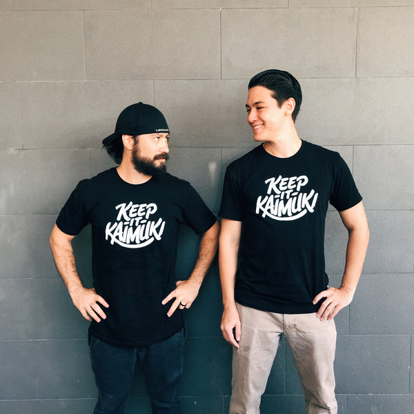 Keep It Kaimuki Tee (Black)