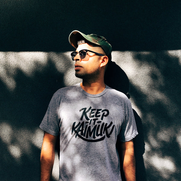 Keep It Kaimuki Tee (Heather Grey)