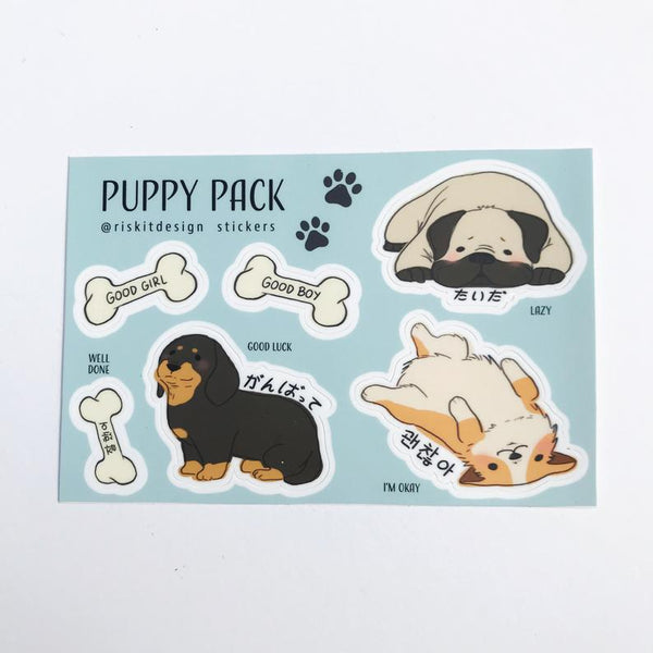 Puppy Pack Stickers