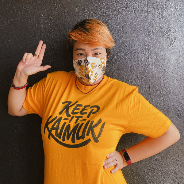 Keep It Kaimuki Tee (Marigold)