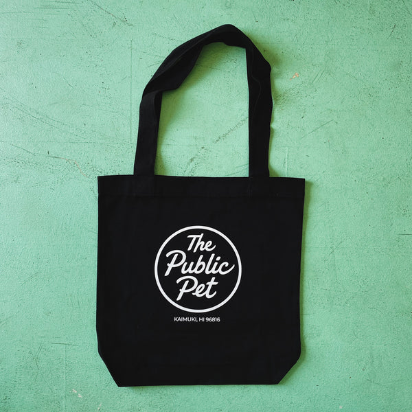 The Public Pet Black Tote Bag