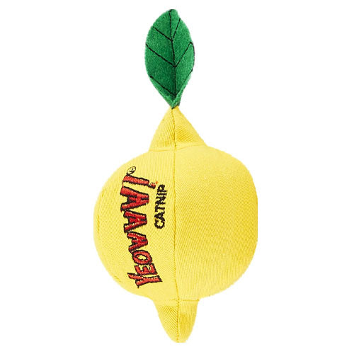 Yeowww! Sourpuss Lemon Catnip Toy
