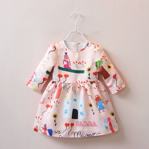 Milly Doodle Dress - Little Livey - 1