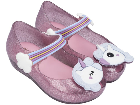 Mini Melissa Unicorn Mary Janes Little Livey