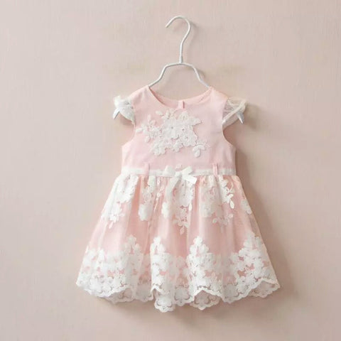 Rose Lace Dress - Little Livey - 1