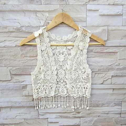 Elliot Boho Vest - Little Livey - 1