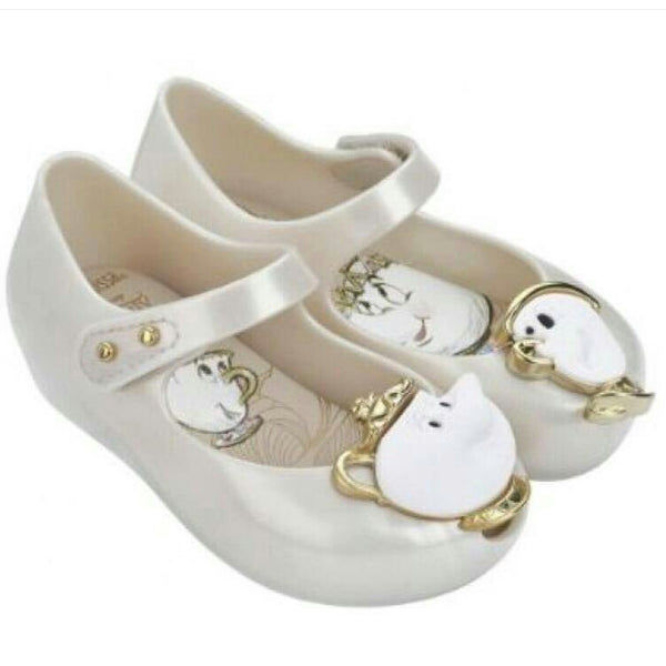 Mini Melissa Ultragirl + Beauty and the Beast Shoes - Little Livey - 1
