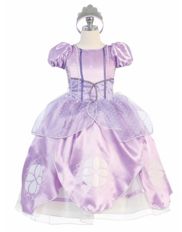 Sofia the First Inspired Ballgown costume