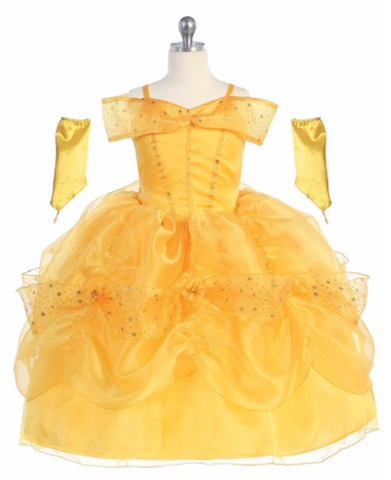 Princess Belle Ballgown