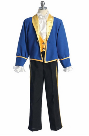 Beauty and the Beast boys costume beast inspired