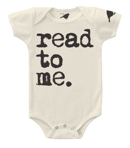 Read To Me Onesie and Tee by Hatch For Kids