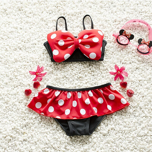 Minnie Mouse Swimsuit - Little Livey - 1
