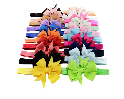 Infant Headband Bundle 20 bows 20 colors $20 Flash Sale