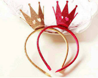 Queen of Hearts Headband Crown - Little Livey - 1