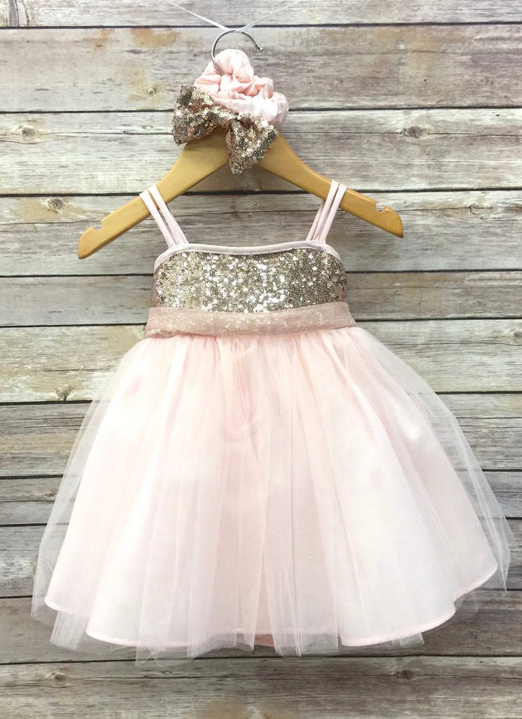 First Birthday Cake Smah Rose Gold And Pink Sparkle Princess Tutu Outf Little Livey