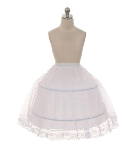 Wire hoop petticoat perfect for fullness
