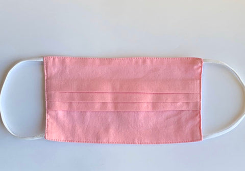 PINK FACEMASK/ USA Made/ Cotton Face Mask / Washable/ Soft Face cover