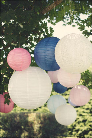 Paper Lanterns for Summer Parties