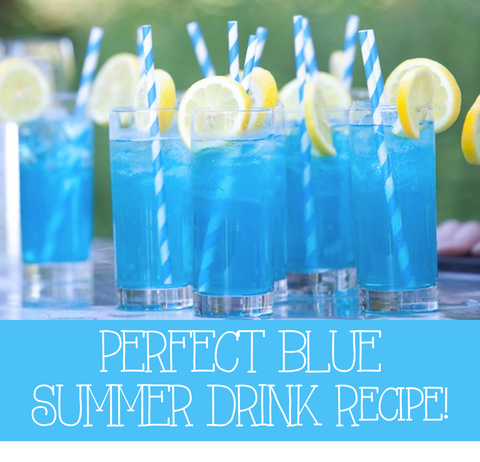 Blue Summer Drink Recipe