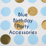 Blue Birthday Party Accessories