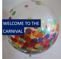Carnival Themed Party Accessories and Decorations